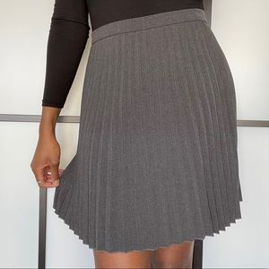 J.Crew pleated mini skirt